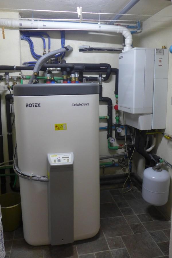 Pannello Solare Termico Rotex : Impianto solare di stefano e sara