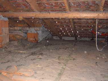 Isolamento termico solaio sottotetto terminali antivento - Sottotetto non abitabile ...