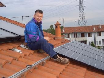 Immagini impianti solare termico e fotovoltaico